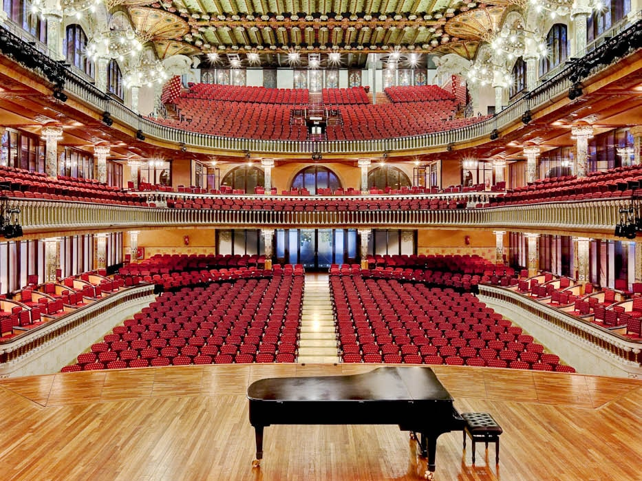 Palau de la musica orfeo català